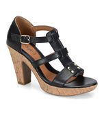Eurosoft™ Fonda Leather Heeled Sandals