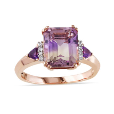 jcpenney.com | Genuine Ametrine Amethyst and Diamond-Accent Ring