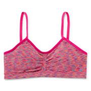 Maidenform® Pink Space-Dye Ruched Bra