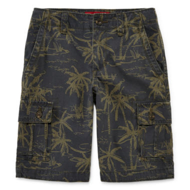 jcpenney.com | Arizona Printed Cargo Shorts - Boys 8-20, Slim and Husky