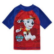 Paw Patrol Rash Guard - Boys 2t-5t
