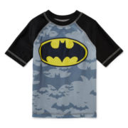 DC Comics® Batman Short-Sleeve Rash Guard - Boys 2t-5t