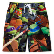 Teenage Mutant Ninja Turtles Swim Trunks - Preschool Boys 4-7