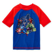 Marvel® Avengers Rash Guard - Preschool Boys 4-7