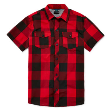 jcpenney.com | Burnside® Short-Sleeve Woven Shirt - Boys 8-20