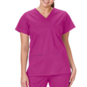 Bio Stretch Mock Top Wrap - Plus