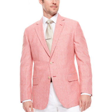 jcpenney.com | Stafford® Linen Cotton Jacket - Classic Fit