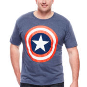 Mad Engine Captain America Tee - Big & Tall