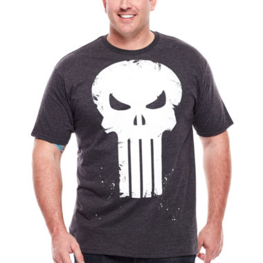 jcpenney.com | Mad Engine Skull Scratch Tee - Big & Tall
