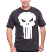Mad Engine Skull Scratch Tee - Big & Tall