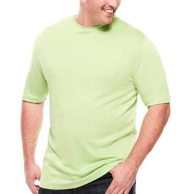 jcpenney.com | D'Amante Crewneck Knit Tee - Big & Tall