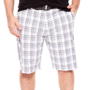 jcpenney.com | The Foundry Supply Co.™ Belted Cargo Shorts - Big & Tall