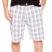 The Foundry Supply Co.™ Belted Cargo Shorts - Big & Tall