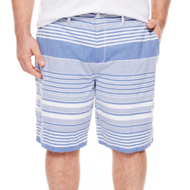 jcpenney.com | The Foundry Supply Co.™ Flat-Front Shorts - Big & Tall