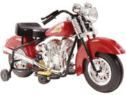 Warrior 6V Motorcycle - Red