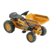 Pedal Tractor with Dump Bucket - Yellow