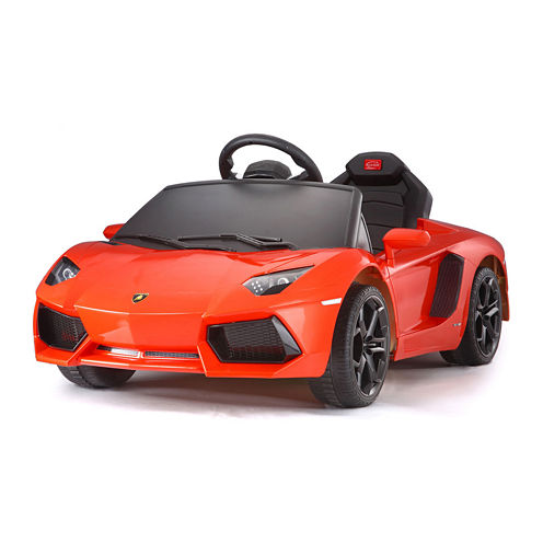 Rastar Lamborghini Aventador 6V Car - Orange