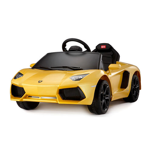 Rastar Lamborghini Aventador 6V Car - Yellow