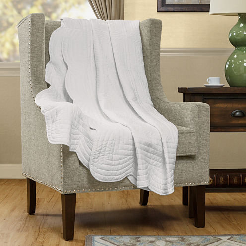 Madison Park Venice Oversized Quilted Throw