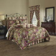 Waverly® Floral Flourish 4-pc. Reversible Comforter Set & Accessories