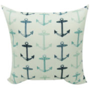 Anchor Allover Outdoor Pillow