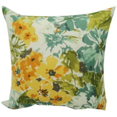 jcpenney.com | Summer Garden Floral Outdoor Pillow