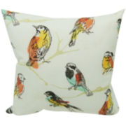 Perch Birds Outdoor Pillow