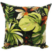 Waikiki Floral Outdoor Pillow