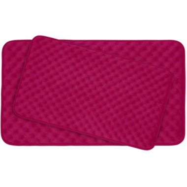 jcpenney.com | Bounce Comfort Massage 2-pc. Memory Foam Bath Mat Set