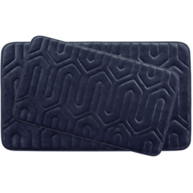 jcpenney.com | Bounce Comfort Thea Memory Foam 2-pc. Bath Mat Set