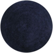 Better Trends Chenille Braid Round Rug