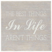 """The Best Things"" Decorative Box"