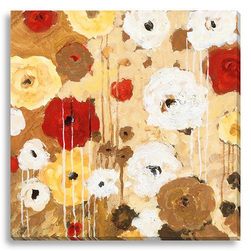 Flower Dance II Canvas Wall Art