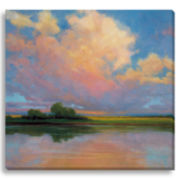 Spring Sunset II Canvas Wall Art