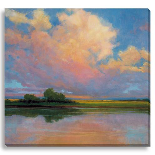 Spring Sunset II Canvas Wall Art