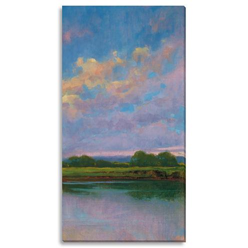 Spring Sunset III Canvas Wall Art