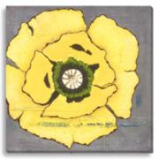 Yellow Poppies II Canvas Wall Art