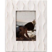 "Distressed Wavy 4x6"" Picture Frame"