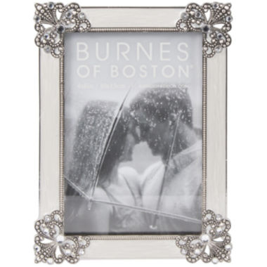 "jcpenney.com | Diecast Jeweled 4x6"" Picture Frame"