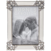 "Diecast Jeweled 4x6"" Picture Frame"