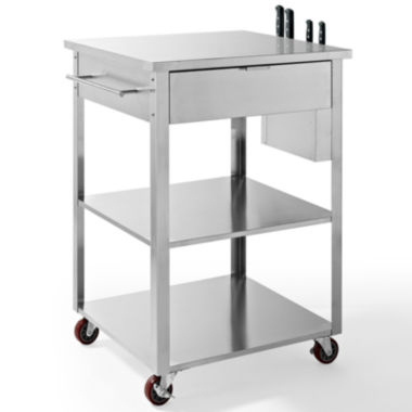 jcpenney.com | Coleman Stainless Steel Kitchen Cart