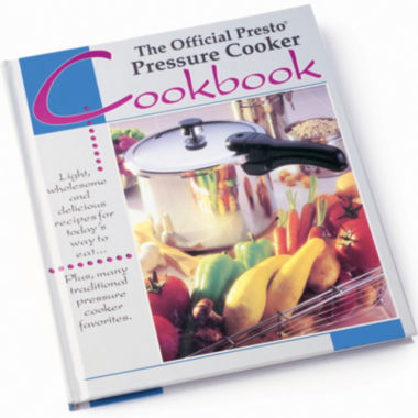 jcpenney.com | The Official Presto® Pressure Cooker Cookbook
