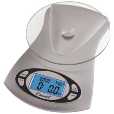 jcpenney.com | Escali® Vitra Glass-Top Digital Scale