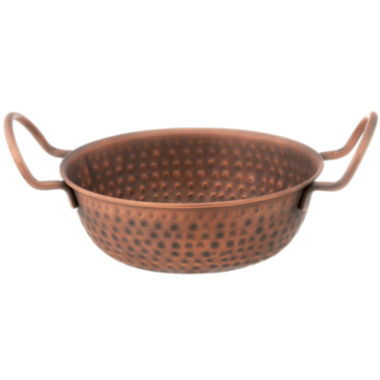 jcpenney.com | Thirstystone® Urban Farm Small Hammered Copper Balti Dish