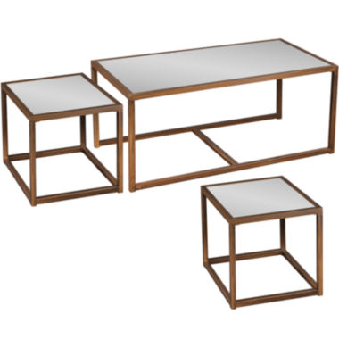 jcpenney.com | Clinton 3-pc. Cocktail and End Table Set