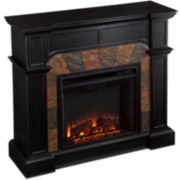 Wrightwood Convertible Electric Fireplace