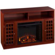 Ashburn Entertainment Center with Fireplace