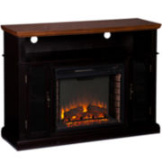Norwood Entertainment Center with Fireplace