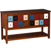 Montclair Multi-Color Drawer TV Stand