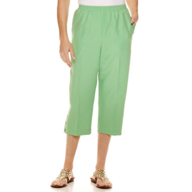 jcpenney.com | Alfred Dunner® Essential Pull On Capri Pant